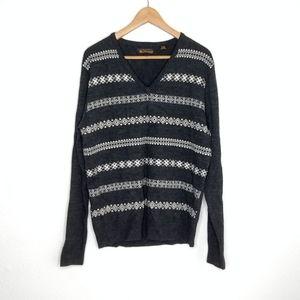 Ben Sherman Wool v-Neck Sweater